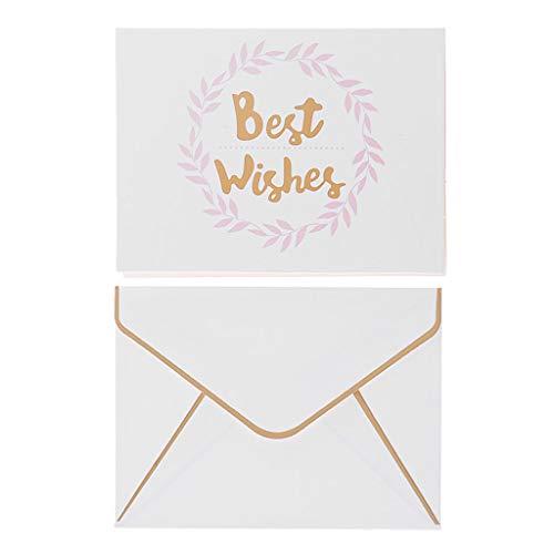 Cadania simple greeting card busta abbronzante per l'invito al festival con busta