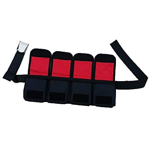 CUTICATE Tauchgürtel mit Taschen Bleigurt Bleigürtel Tauchgewicht - 4