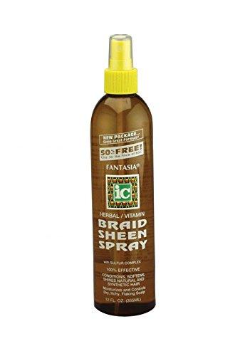 Fantasia IC Braid Sheen Spray 12oz :502140