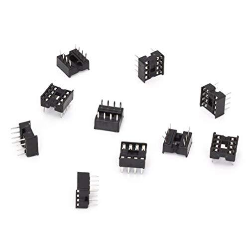 NaiCasy 10 PC-Berufs Solder Typ 8 PIN DIP Integrierte Schaltungen IC-Sockel-Adapter Dip-solder