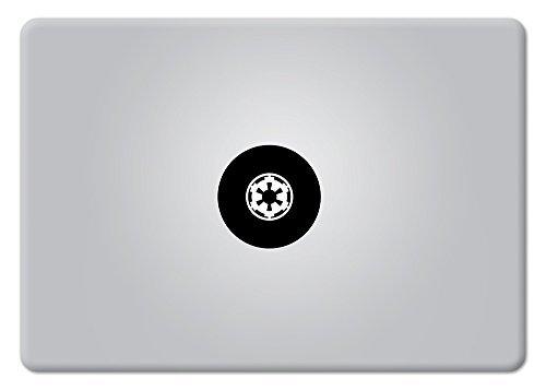 Star Wars Imperial Logo Galactic Empire Klein Apple MacBook Laptop Aufkleber Vinyl Aufkleber Apple Mac Air Pro Retina (Imperial Empire-logo)
