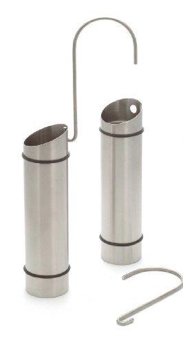 2er Pack Luftbefeuchter Wasserverdunster aus Edelstahl für Heizkörper
