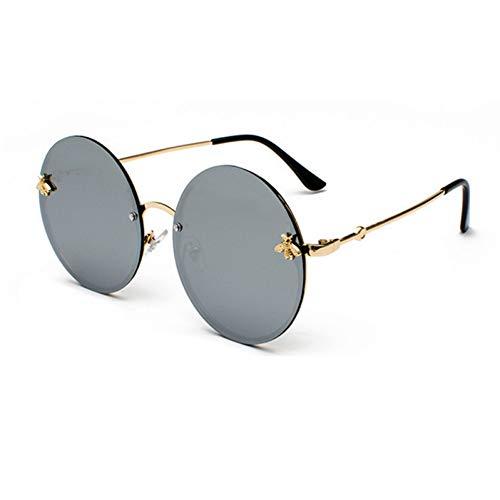 Taiyangcheng Polarisierte Sonnenbrille Retro Runde Sonnenbrille Frauen Sonnenbrille Männer Frauen Markenbrille Mode Männlich Weiblich Gelb Rot Schattierungen,A1