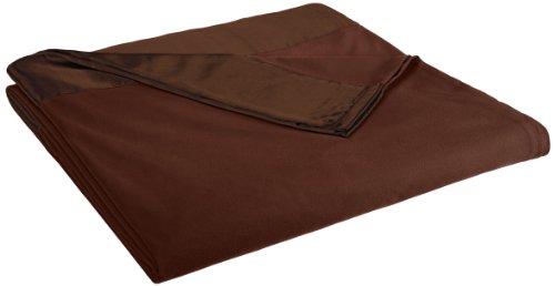 Shavel Micro Flanell Decke, Schokoladenbraun, Queen (Micro-flanell-decke)