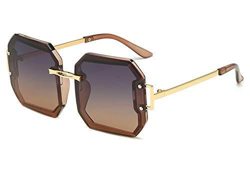 GFF Polarisierte quadratische Dicke Linse Sonnenbrille Männer Frauen Mode UV400 Vintage Brille 47919