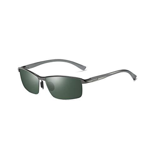 Sport-Sonnenbrillen, Vintage Sonnenbrillen, Brand Designer Aluminum Magnesium Polarisiert Sunglasses Men Fishing Driving Sun Glasses Eyewear Gafas De Sol PA1017 C4 Gun g15