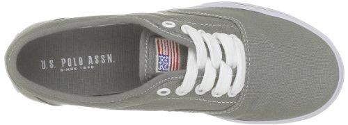 US Polo Assn Dottie, Damen Sneaker Grau - Gris (Dkgr)