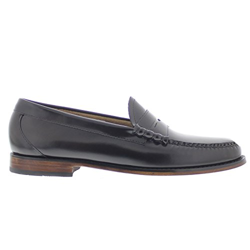 G.H. Bass & Co. Mens Weejun Larson Moc Penny Leather Shoes Marron