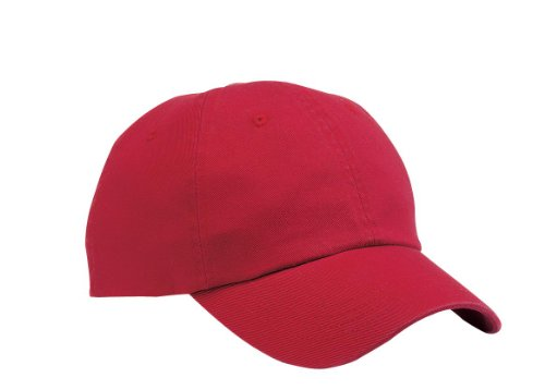 Port & Company® - Washed Twill Cap. CP78 Red OSFA -