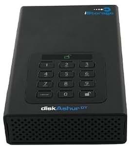 iStorage diskAshur DT 2TB USB 3.0 256-Bit AES Hardware Encryption PIN Operated Portable Hard Drive