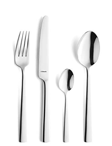 Amefa Monogram 62-Piece Bliss Cutlery Canteen Set Stainless