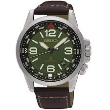 Seiko Prospex Automatic Gents Green Dial Strap Watch