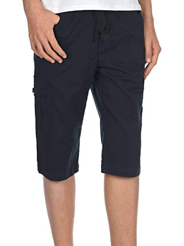 BEZLIT Kinder Jungen Cargo-Shorts Kurze-Hose Capri-Shorts 3/4 Dehnbund Short 30065 Navy 158 Cargo-kinder-capris