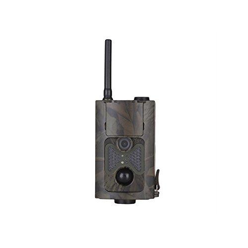 SODIAL HC550M Jagd Kamera 2G GPRS MMS 16MP 1080 P 120 Grad PIR 940NM Infrarot Wildlife Trail Kameras (Timer 60 Min Digital)