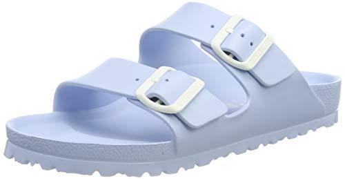 BIRKENSTOCK Damen Arizona Sandalen, Blau Soft Blue, 40 EU -