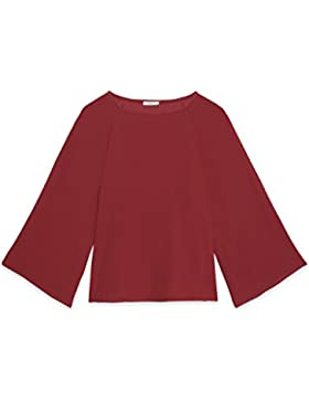 Motivi: Blusa donna in georgette con ampie maniche lunghe. (Italian size)