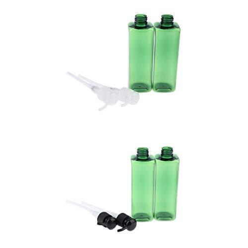 IPOTCH 4pcs Sprühflasche Pumpflsche mit Pumpsprüher für Parfüm, Lotion, Flüssige Cremes,...