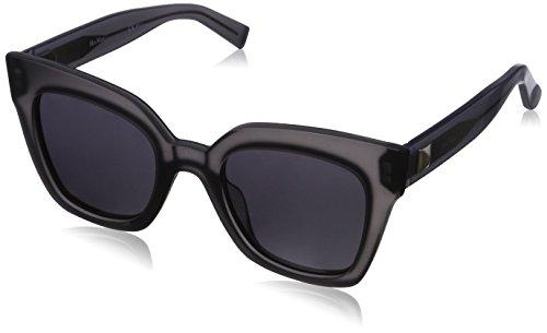 Max mara mm prism iv ir c98 50, occhiali da sole donna, grigio (greymop grey blue)