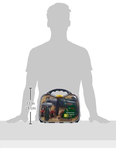 Theo Klein 8416 - Bosch Werkzeugkoffer, groß, transparent, Spielzeug - 3