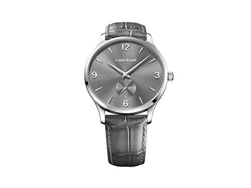 Louis Erard 1931 Automatic Watch, Grey, Leather Strap, 47217AA03.BDC85