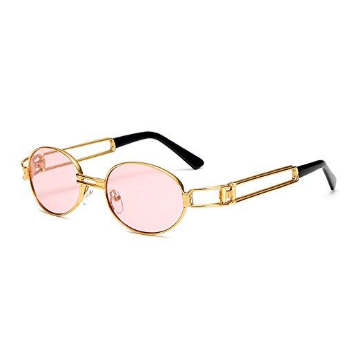 FiedFikt Unisex Polarisierte Sport-Sonnenbrille Vintage Punk verspiegelt Sonnenbrille für Herren Damen Radfahren Laufen Autofahren Angeln Golf Baseball Outdoor Sport Brille 100% UV-Schutz, F, M
