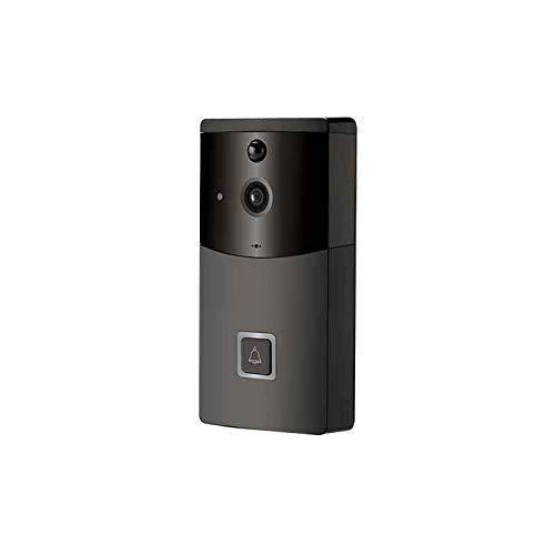 LJ2 Ring Video Türklingel, Smart Wireless WiFi Video Türklingel HD Überwachungskamera mit Bewegungserkennung Nachtsicht Unterstützung 8G Speicherkarte -