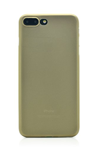 iProtect TPU Schutzhülle Apple iPhone 7 Plus, iPhone 8 Plus Soft Case in matt Rosa IP7 Plus Soft Case matt Gold