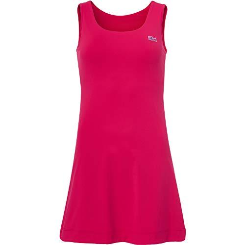 Sportkind Mädchen & Damen Tennis/Hockey/Golf Trägerkleid, pink, Gr. 134