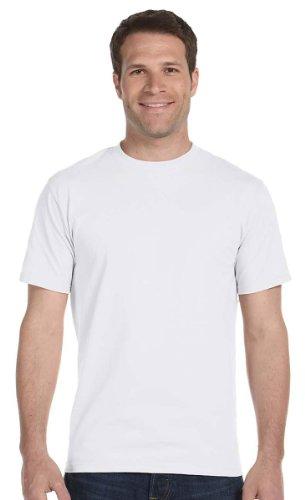 M?nner 4Pack Rundhalsausschnitt Tagless Wei? Unterhemden Crewneck T-Shirts, XL (T-shirt Rundhalsausschnitt Tagless)