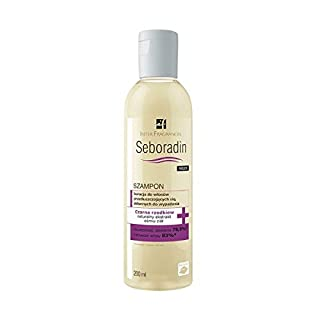 Seboradin Niger Shampoo for Greasing Falling Out Hair 200ml