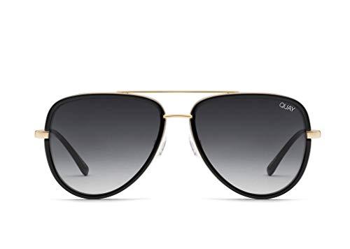 Quay Australia All In Womens Sunglasses One Size Black Smoke