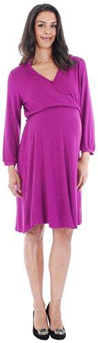 Everly Grey Damen Kleid Sizilien, Orchideen-Größe XL -
