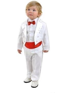 Cést La vida-Disfraz infantil de 5 para niños de los niños pequeños Disfraz de bebé, diseño de comunión Disfraz...