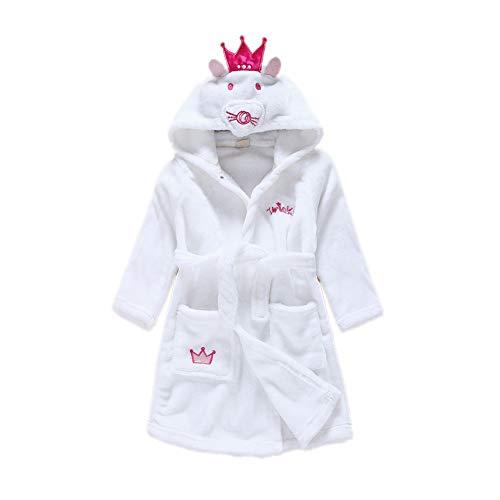 Kostüm Kind Bademantel Kapuzen - DarkCom Unisex Kinder Bademantel mit Kapuze Cosplay Kostüme Tiere Ankleiden Robe Für Mädchen und Jungen (130 (Suggest Höhe: 120 CM-130 cm), Maus)