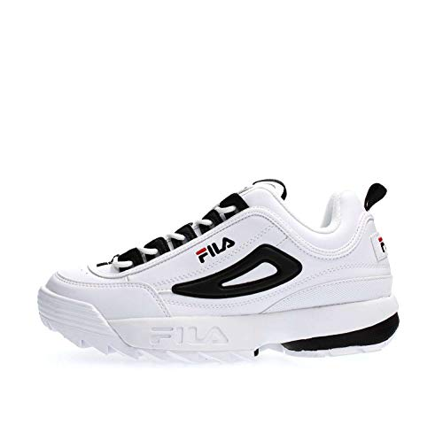 Fila Schuhe für Herren Sneaker Disruptor CB Low aus weißem Leder 1010575-00E (Baby Fila Schuhe)
