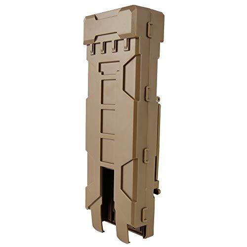 SGOYH Taktisch Magazinbeutel 10 Runden Shotgun Shell Model Beutel für 12 Gauge Magazin Munition Patrone Halter (Tan)