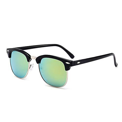 AAMOUSE Sonnenbrillen Neue Art und Weise Halbrahmen polarisierte Sonnenbrille für Frauen für Männer, äh, halber Rahmen fürSonnenbrillen