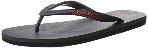 JACK & JONES Herren Jfwpalm Flip Flop Pack Zehentrenner Blau (Navy Blazer)