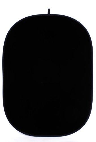 Helios Falthintergrund 150x200 cm weiß/schwarz