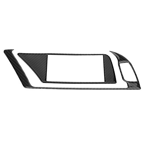 Kohlefaser GPS Navigator Verkleidung, Innenraum GPS Navigator Verkleidung für B8 A4 A5 Q5 S4 S5