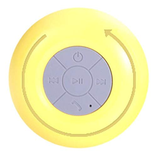 Altavoz Bluetooth a Prueba de Agua baño Ventosa pequeño Sonido portátil Mini...
