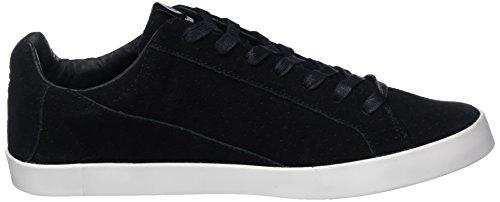 Hummel Cross Court Suede, Sneakers Basses Homme Noir (Black)