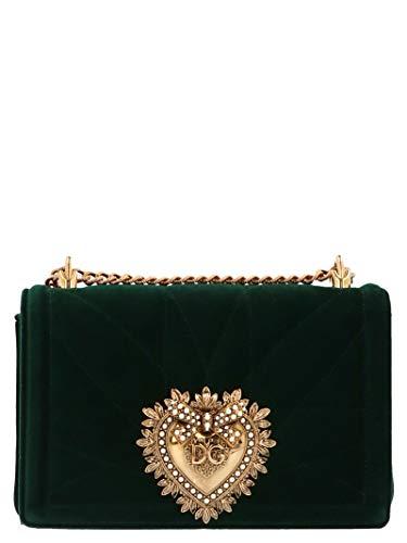Dolce E Gabbana Borsa A Spalla Donna Bb6652aa09087399 Pelle Verde