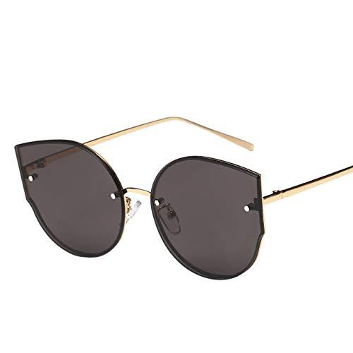 GYBTYJDD Damen Herren Polarisierte Sonnenbrille, Travel Ski Golf Running, Grau