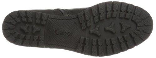 Gabor Comfort Sport, Stivali Donna Nero (17 Schwarz Micro)