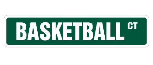 Team-basketball-uniformen (Funny Deko Schilder Basketball Street Sign Schilder Hoop Net Coach Team Geschenk Schuhe Uniform Player Spiel Metall Aluminium Zeichen für Garagen, Wohnzimmer)