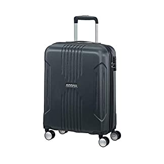 American Tourister Tracklite – Spinner Small Equipaje de Mano, 55 cm, 34 Liters, Azul (Dark Navy)