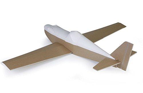 Graupner FT4122 RC Flugmodell Racer, Sportflugzeug, Bausatz, wasserabweisendes FT Foam Board, Spannweite 1016 mm