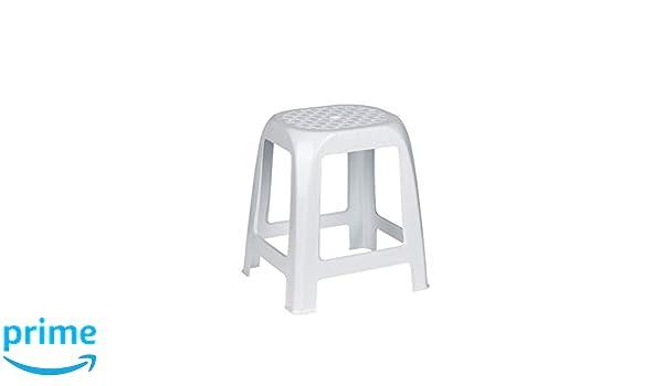Kreher sgabello con seduta in rattan di design in plastica colore