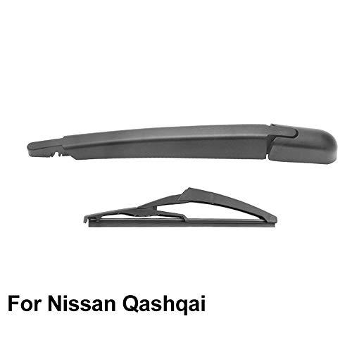 SLONGK Heckwischerarm & Heckwischerblatt, Für Nissan Qashqai 2014-2018 (J11)